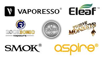 Stockists of eLeaf, Aspire and BordO2 liquids